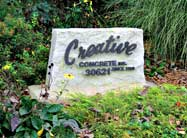 Creative Concrete is equipped to handle your job